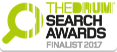The Drum Search Awards logo