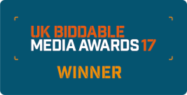 UK Biddable Media Awards winner