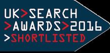 UK Search Awards logo
